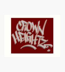 Crown Heightz Art Print