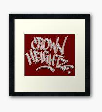 Crown Heightz Framed Print