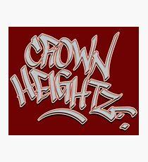 Crown Heightz Photographic Print