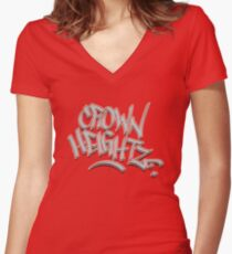 Crown Heightz Fitted V-Neck T-Shirt
