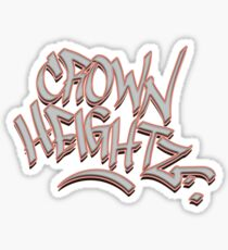 Crown Heightz Glossy Sticker