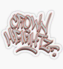 Crown Heightz Transparent Sticker