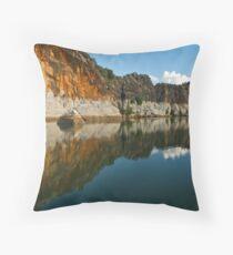 Giekie Gorge Throw Pillow