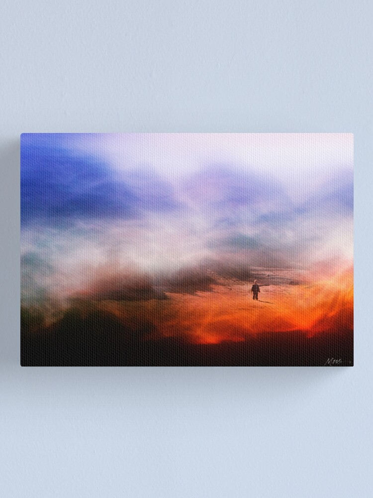 Alternate view of Lost in a Dream Canvas Print
