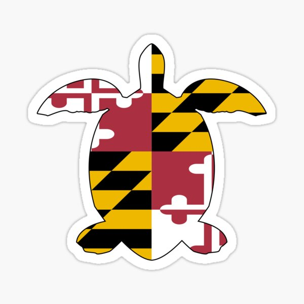 Maryland Turtle Sticker