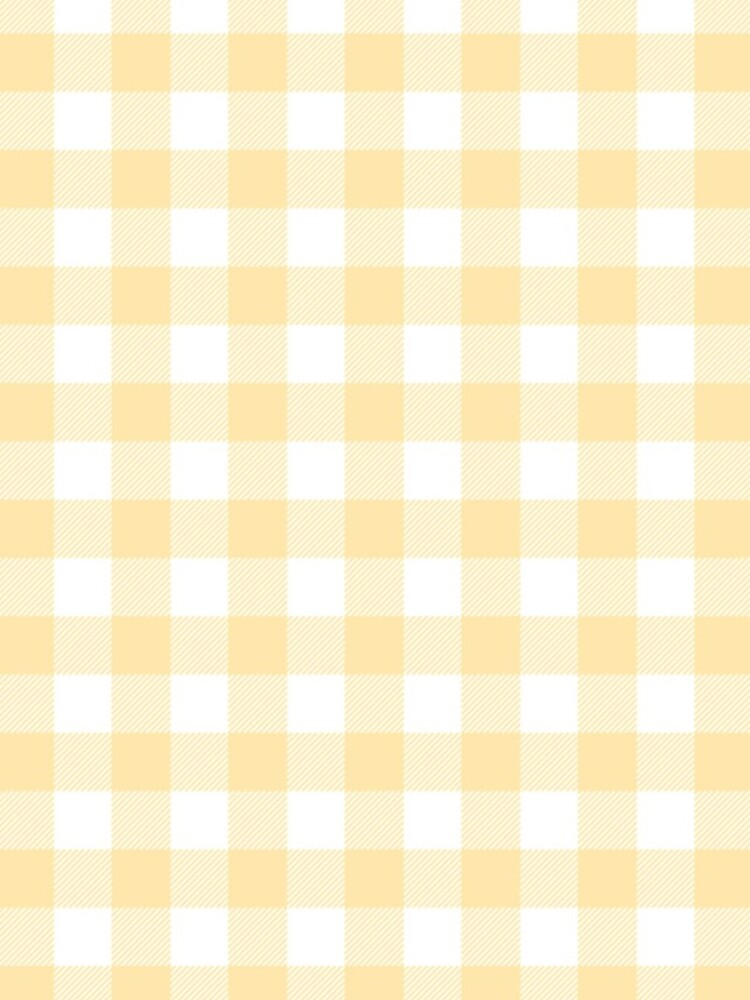 Yellow Gingham by osnapitzami