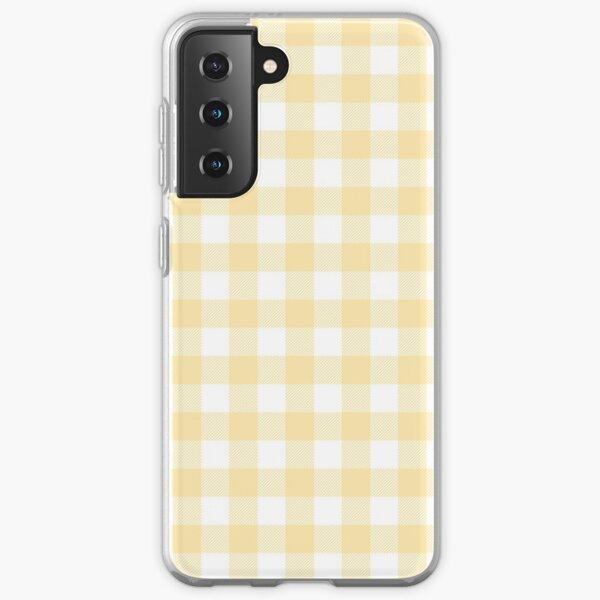 Yellow Gingham Samsung Galaxy Soft Case