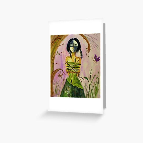 The Bone Woman Greeting Card