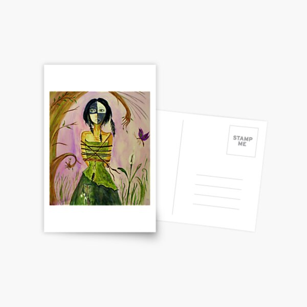 The Bone Woman Postcard