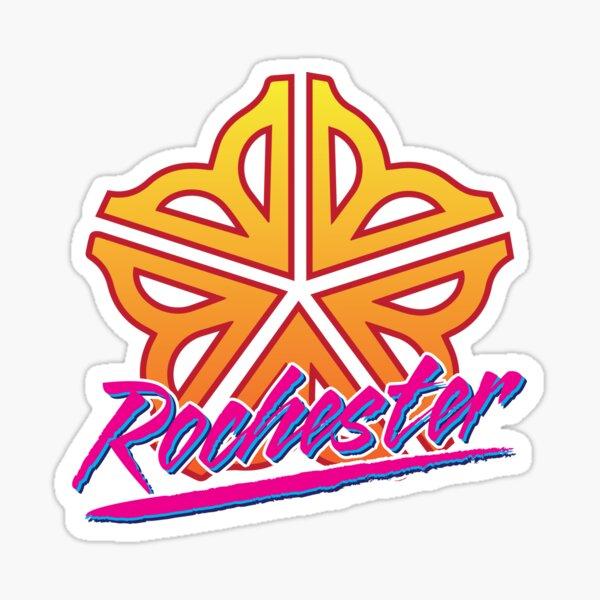 Officially Licensed Retro Rochester Logo Sticker