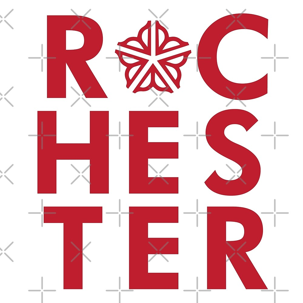 Officially Licensed Rochester Type by Patrick King