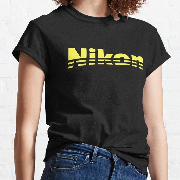 Nikon Yellow Logo Classic T-Shirt