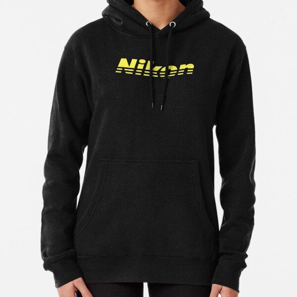 Nikon Yellow Logo Pullover Hoodie