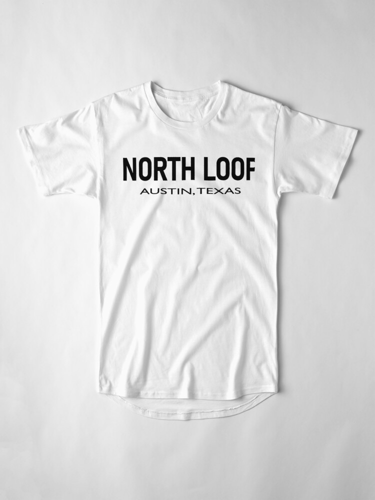 Alternate view of North Loop - Austin, Texas  Long T-Shirt