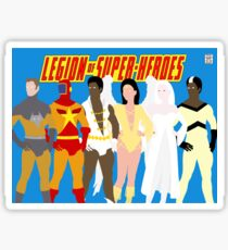 Legion of Super-Heroes Minimal 5 Sticker