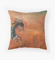 Kokopelli- Series Throw Pillow
