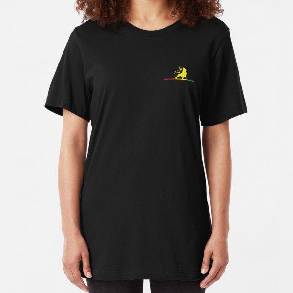 Reggae Rasta Roots Vibes Slim Fit T-Shirt