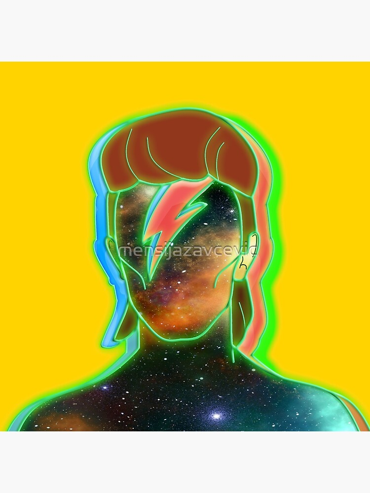 STARMAN/ Neon nostalgia tribute by mensijazavcevic