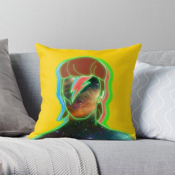 STARMAN/ Neon nostalgia tribute Throw Pillow