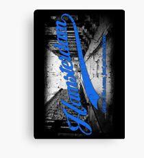 Hamsterdam - Cloud Nine Edition (Blue) Canvas Print