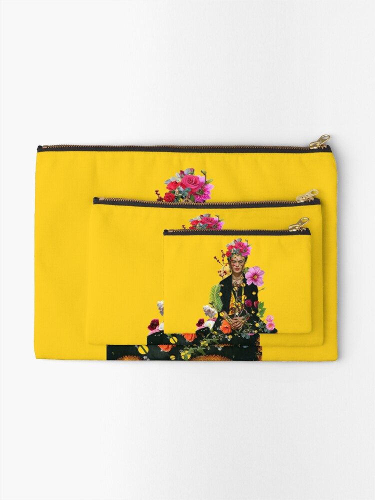 Alternate view of I want to be inside your darkest everything Zipper Pouch