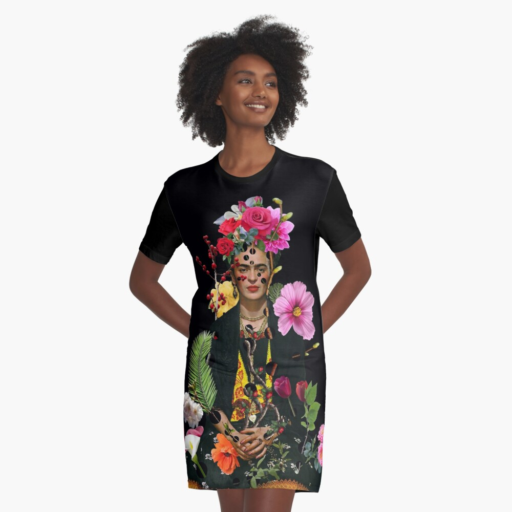I want to be inside your darkest everything Graphic T-Shirt Dress