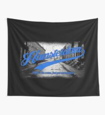 Hamsterdam - Cloud Nine Edition (Blue) Wall Tapestry