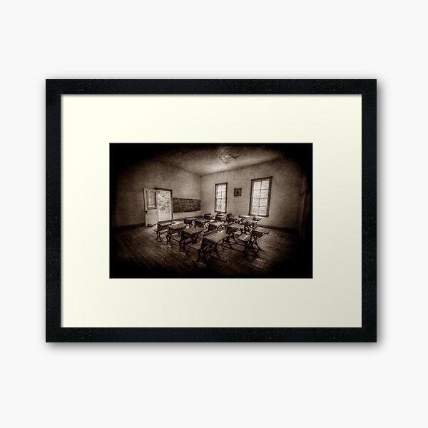 One Room Framed Art Print