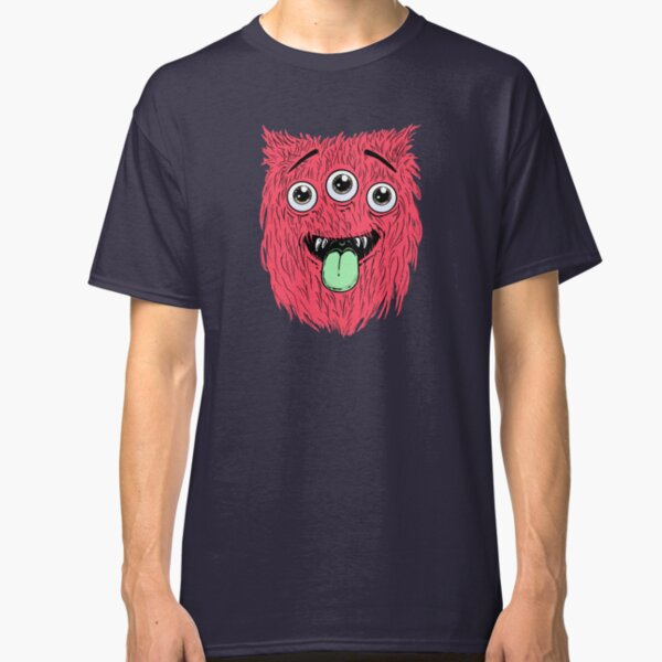 Fury Monster Face Classic T-Shirt
