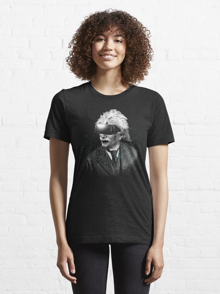 Alternate view of Einstein Reality  Essential T-Shirt