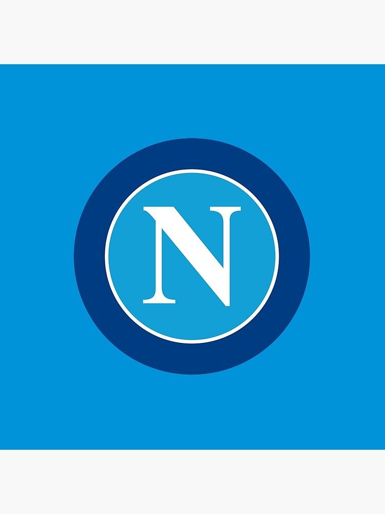 Ssc Napoli Serie A Italy Team Logo Tote Bag By Cocobaci Redbubble