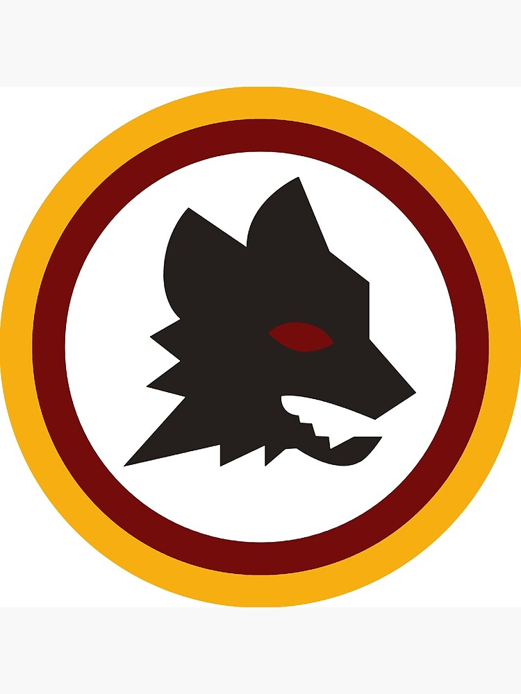 AS Roma Serie A Italien Team Altes Logo von cocobaci