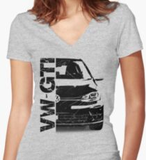 vw gti Women's Fitted V-Neck T-Shirt