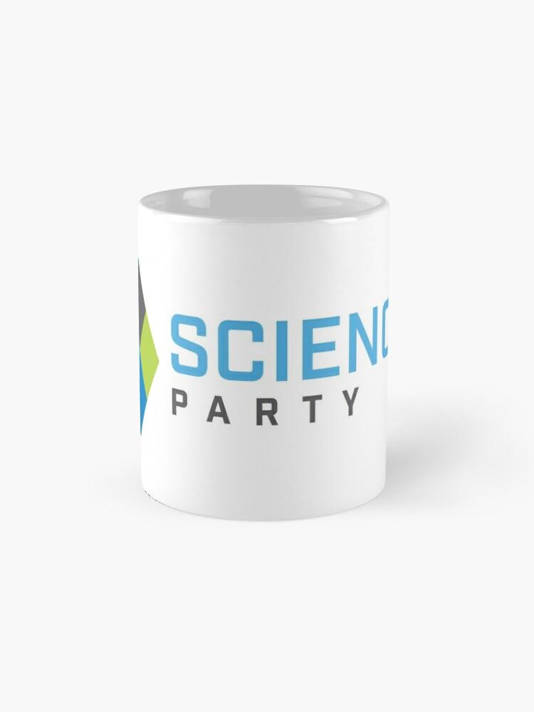Alternate view of Science Party Australia (Light) Mug
