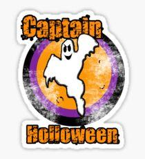 Captain O' Holloween! Sticker
