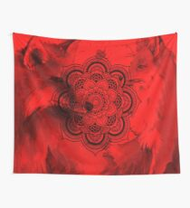 red fox Wall Tapestry