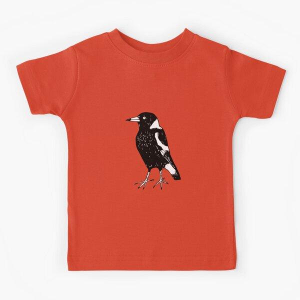 Max the Magpie - Raising funds for BirdLife Australia Kids T-Shirt