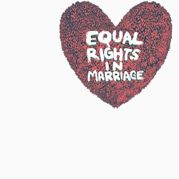 I Heart Equal Rights by bamanofski