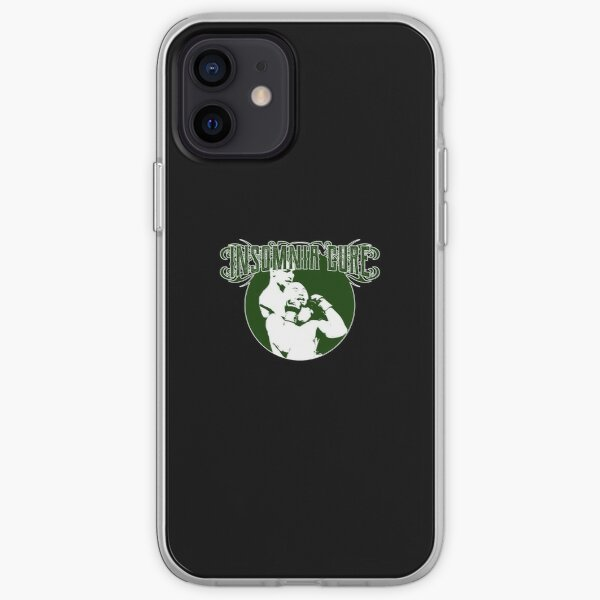 Insomnia Cure - Funny Martial Arts Pun Joke MMA iPhone Soft Case