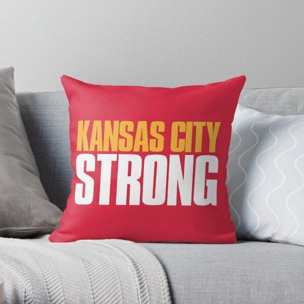 Kansas City Strong Sports Fan Throw Pillow