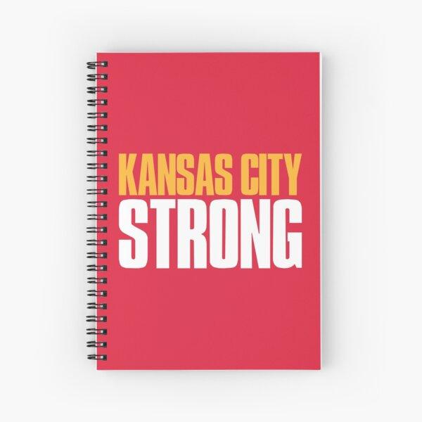 Kansas City Strong Sports Fan Spiral Notebook