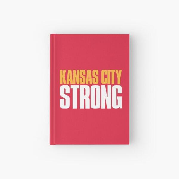 Kansas City Strong Sports Fan Hardcover Journal