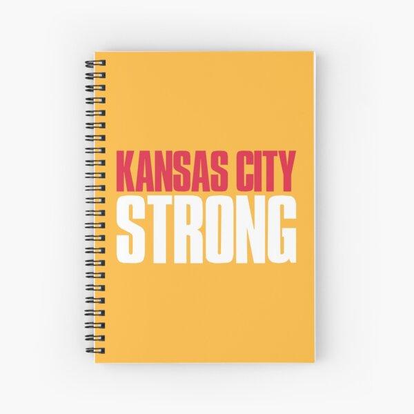 Kansas City Strong Fan Spiral Notebook