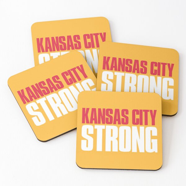 Kansas City Strong Fan Coasters (Set of 4)
