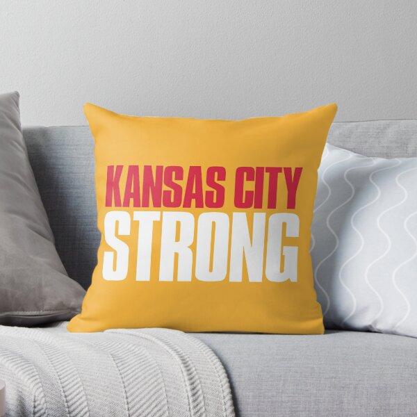 Kansas City Strong Fan Throw Pillow