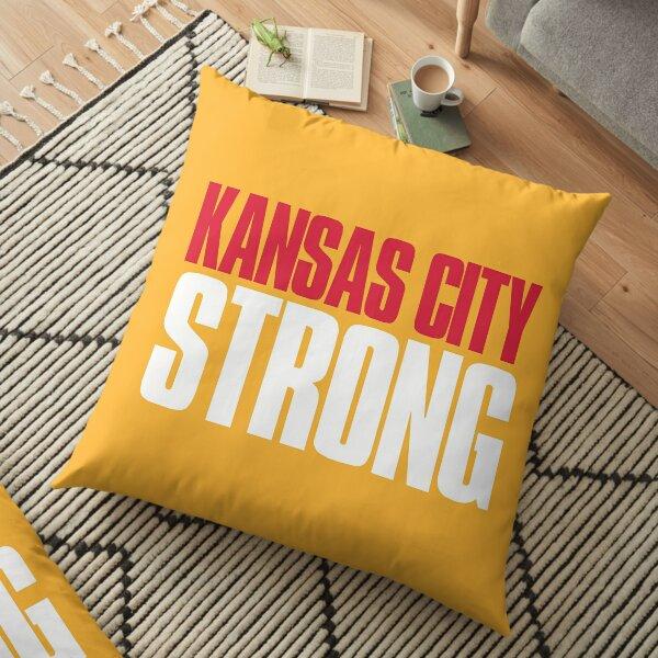 Kansas City Strong Fan Floor Pillow