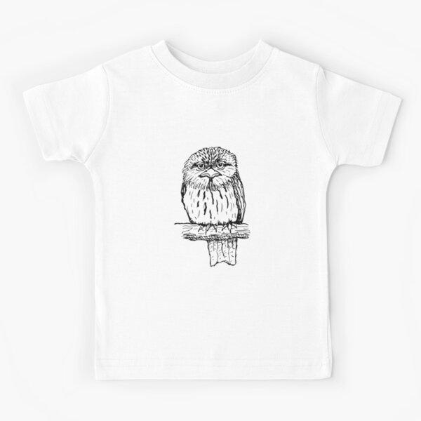 Tawny Frogmouth - Raising funds for BirdLife Australia Kids T-Shirt