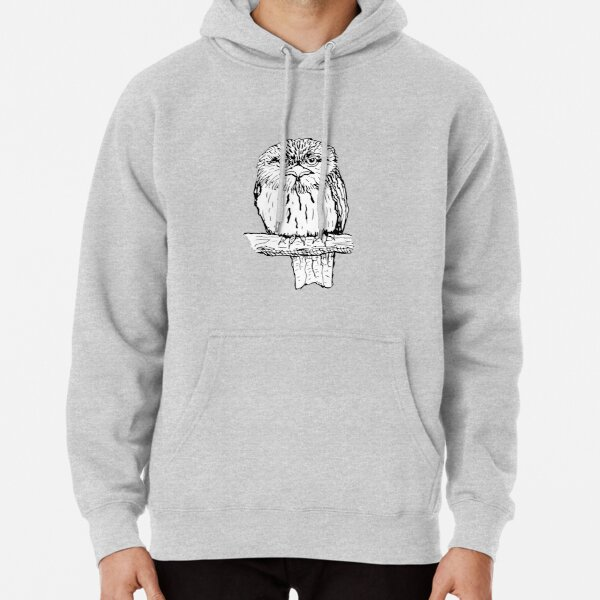 Tawny Frogmouth - Raising funds for BirdLife Australia Pullover Hoodie