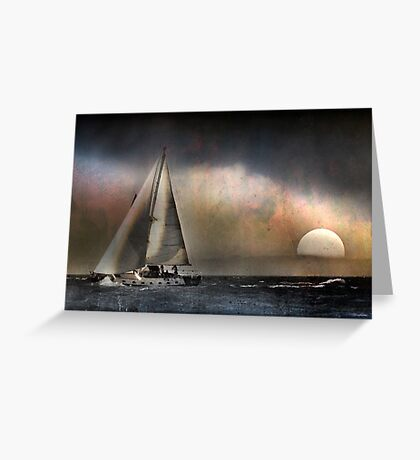 Weathered Journey Greeting Card