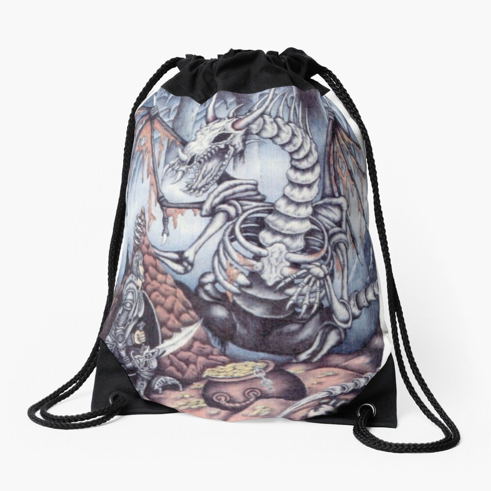 Dragon Slayer  Drawstring Bag